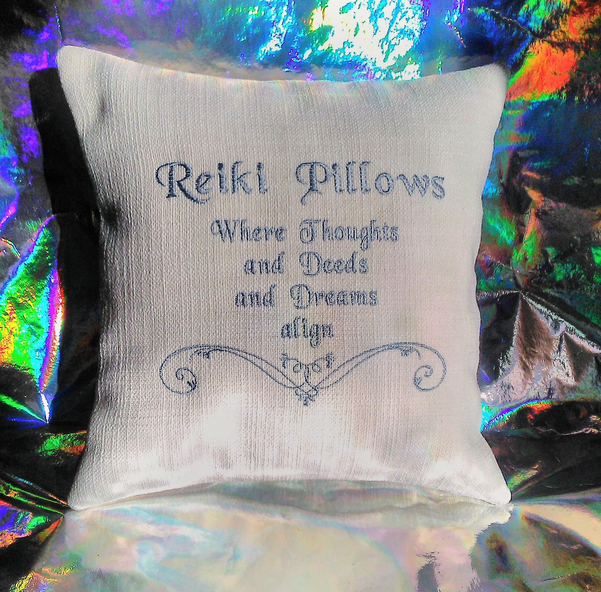 Reiki Pillows Logo